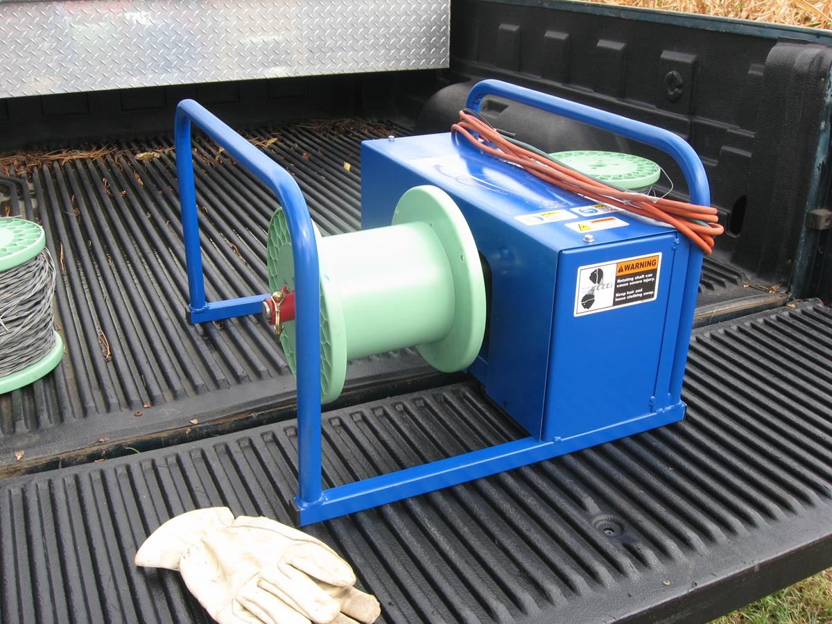 Electric Fence Wire Winder